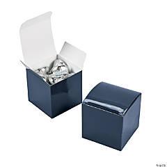 Mini Navy Favor Boxes