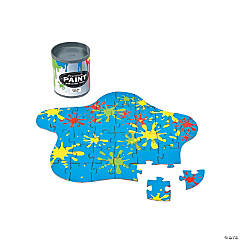 Mini Paint Can Jigsaw Puzzles