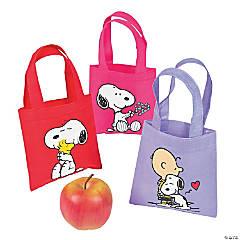 Mini Peanuts® Valentine Treat Tote Bags