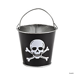 Mini Pirate Metal Pails