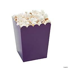 Mini Plum Popcorn Boxes