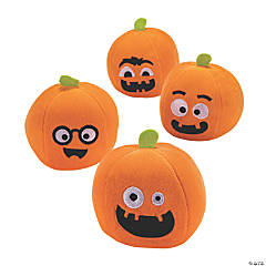 Mini Plush Pumpkins