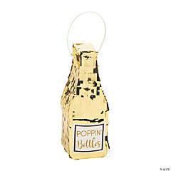 Mini Popping Bottle Décor with Fringe