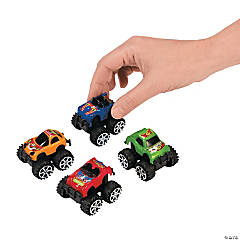 Mini Pull-Back Monster Trucks