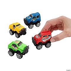 Mini Pull-Back Monster Trucks