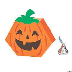 Mini Pumpkin Favor Boxes - 12 Pc.
