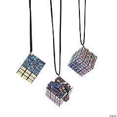 Mini Puzzle Cube Necklaces