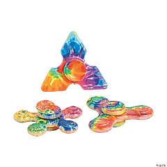 Mini Rainbow Fidget Spinners