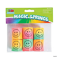 Mini Rainbow Smile Face Magic Springs