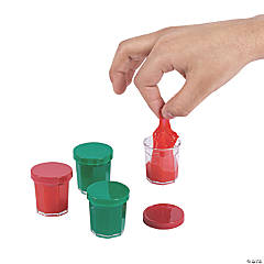 Mini Red & Green Holiday Slime