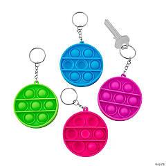 Mini Round Lotsa Pops Popping Toy Keychains