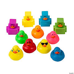 Mini Rubber Duckies Assortment