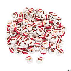 Mini Santa Erasers - 144 Pc.