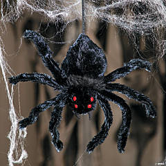 Mini Shaking Spider Halloween Decoration