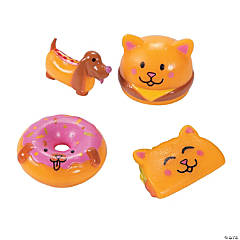 Mini Silly Food Pets Character Toys
