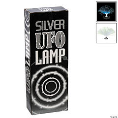 Mini Silver UFO Lamp