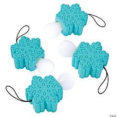 Mini Snowflake Pull Flashlights