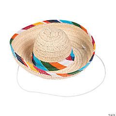 Mini Sombrero Hats with String