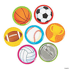 Mini Sports Icons Buttons
