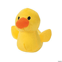 Mini Stuffed Rubber Ducky