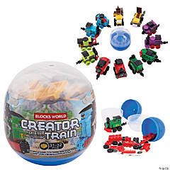 Mini Train Building Block Sets