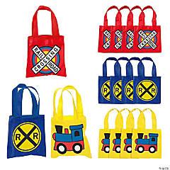 Mini Train Party Tote Bags