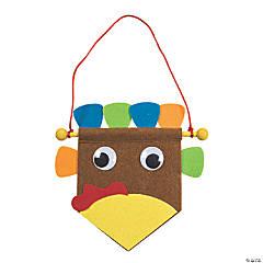 Mini Turkey Banner Craft Kit