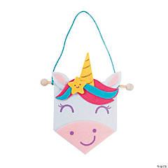 Mini Unicorn Banner Craft Kit