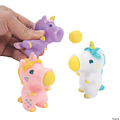 Mini Unicorn Popper Ball Launchers