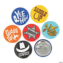 Mini Western Buttons