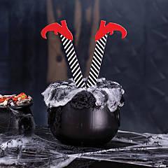 Mini Witch Legs Halloween Stakes