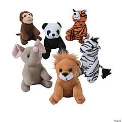 Mini Zoo Stuffed Animals