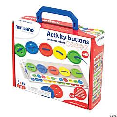 """""""Miniland Activity Buttons, 57 Pieces Per Set, 2 Sets"""""""