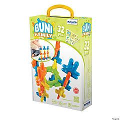 Miniland Educational Buni Blocks Neon, 32 Pieces