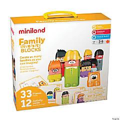 Miniland Educational Family Diversity Blocks
