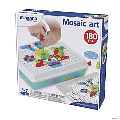 Miniland Educational® Mosaic Art, 180 Pieces