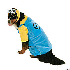 Minion Dog Costume - XXL