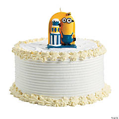 Minions™ Birthday Candle