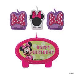 Minnie Bowtique Birthday Candles
