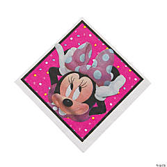 Minnie Happy Helpers Luncheon Napkins