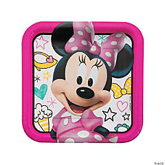 Minnie Happy Helpers Paper Dinner Plates