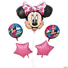 Minnie Mouse Mylar Balloon Bouquet