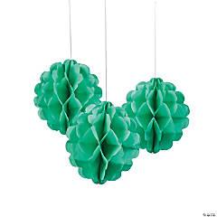 Mint Green Tissue Paper Balls - Less Than Perfect