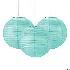 Mint Paper Lanterns