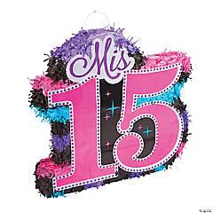 Mis Quince Años Piñata