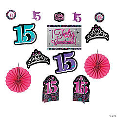Mis Quince Años Room Decorating Kit