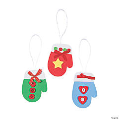 Mitten Christmas Ornament Craft Kit