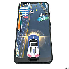 Mobile Arcade Virtual Racer: Purple/White