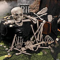 Molded Plastic Bag of Bones