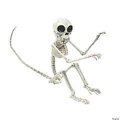 Monkey Skeleton Halloween Decoration